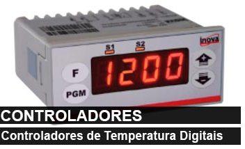 Controladores de Temperatura Digitais