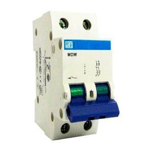 Disjuntor WEG Bipolar 4 Amperes