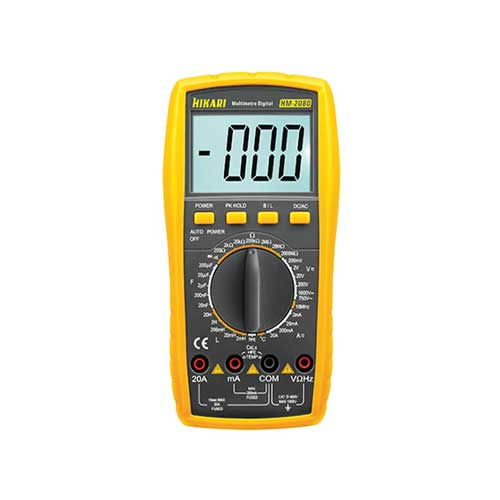 multimetro digital hm2080
