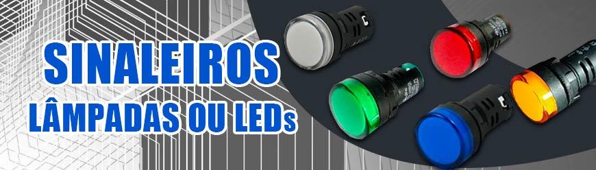 sinaleiro, lâmpada ou LED