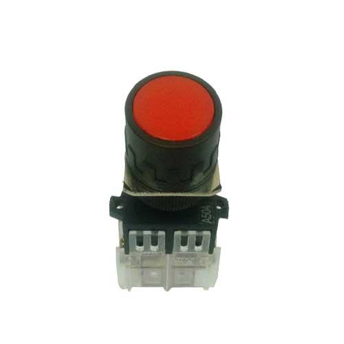 botao de 22mm vermelho