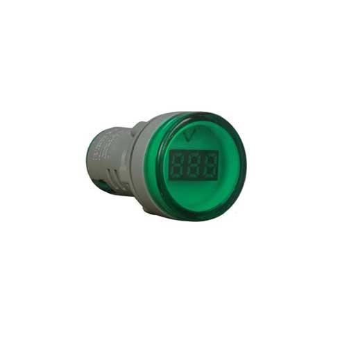 voltimetro verde