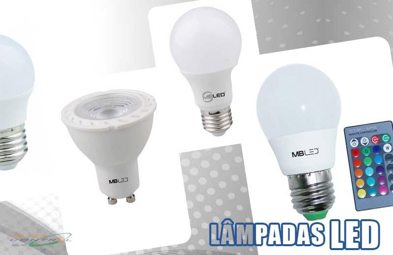 Lâmpada Led – Baixo consumo de energia com maior luminosidade