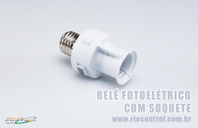 Relé Fotoelétrico com Soquete