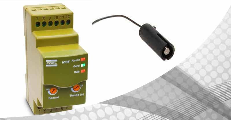 Controlador de nível eletrônico para líquidos